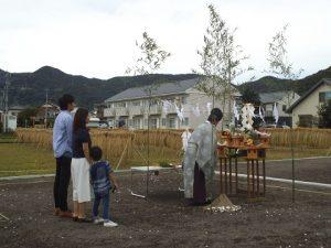 小池様地鎮祭