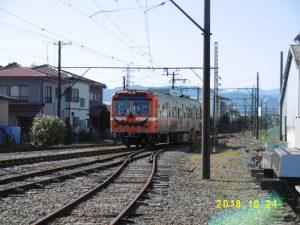 岳南鉄道のハロウィン
