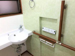 手すり&手洗いカウンター