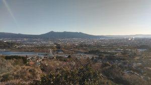 富士山を臨んで