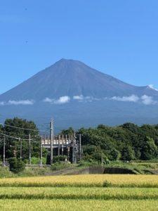 9月6日の富士山