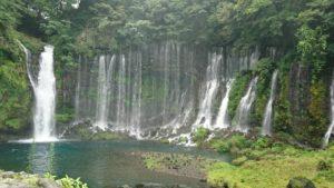 白糸の滝周辺を散策