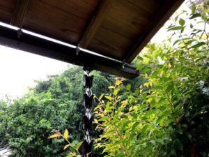 鎖樋のある風景