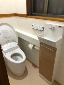 トイレと手洗器分離のススメ