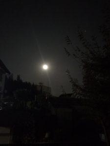 10月31日 満月...ブルームーン
