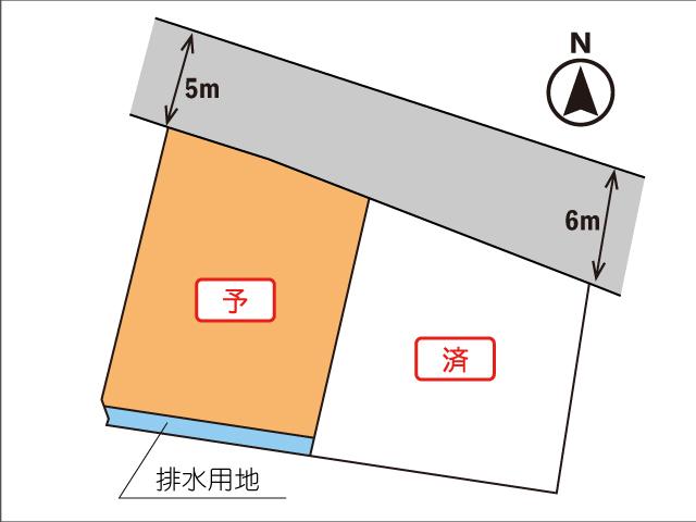 富士市今泉—800万円台の新規分譲地—
