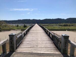 世界一長い木造歩道橋